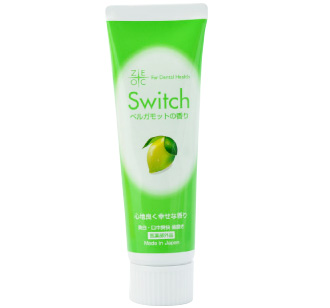 Switch toothpaste bergamot