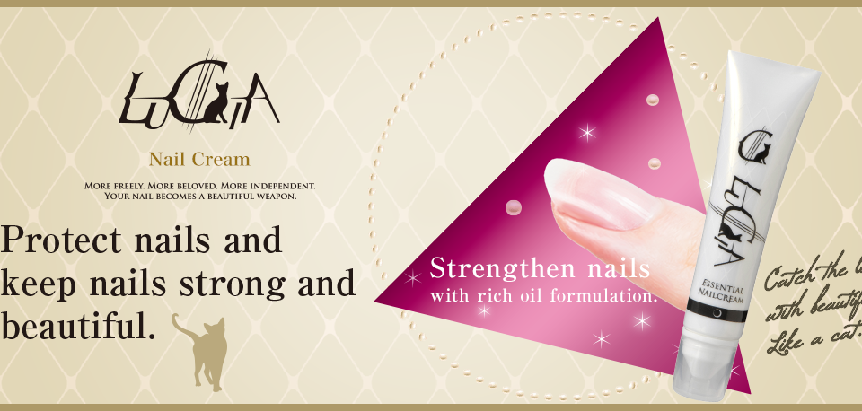 LUCIA Protect nails and keep nails strong and beautiful.