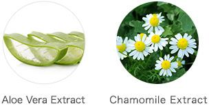 Aloe Vera Extract Chamomile Extract